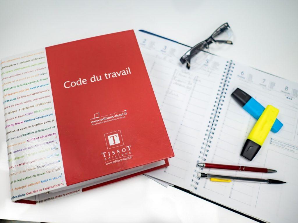 code travail juridique